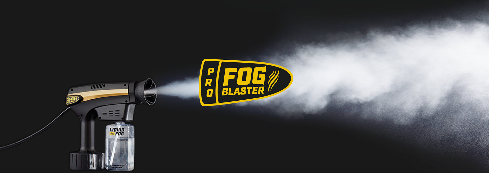 fog blaster blast with logo