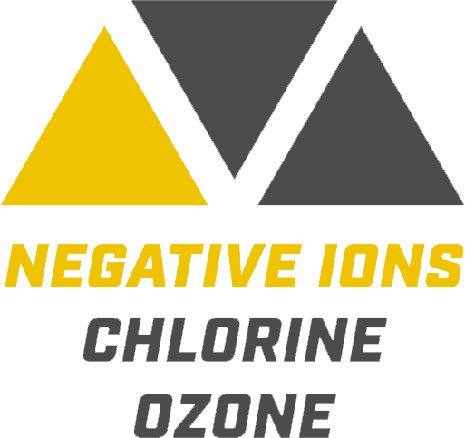 negative ions fog blaster logo